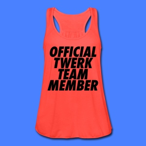 Official Twerk Team Member Tanks - Women's Flowy Tank Top by Bella