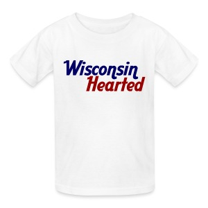 Wisconsin Hearted - Kids' T-Shirt