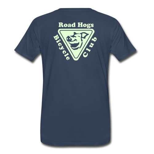 Road Hogs Bicycle Club - Glow in the Dark - Men's Premium T-Shirt