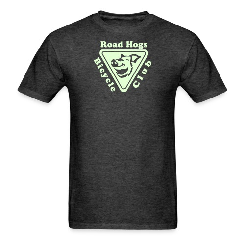 Road Hogs Bicycle Club - Glow in the Dark - Men's T-Shirt