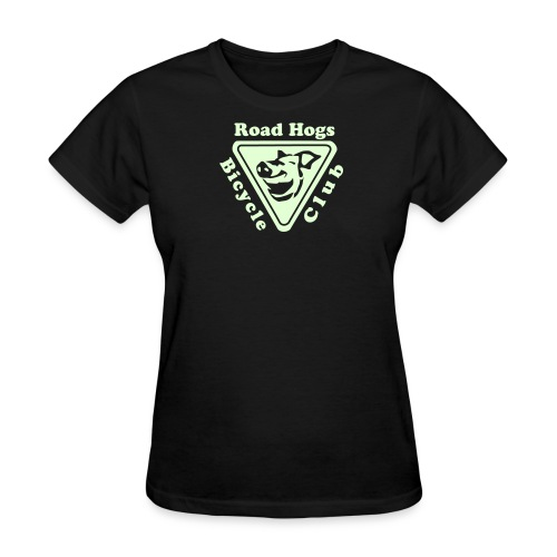 Road Hogs Bicycle Club - Glow in the Dark - Women's T-Shirt