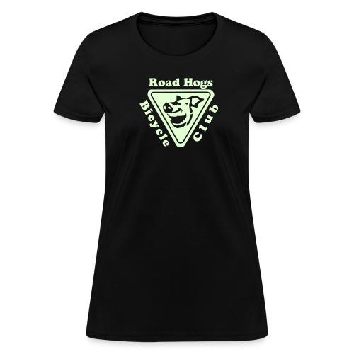 Road Hogs Bicycle Club - Glow in the Dark - Women's T-Shirt