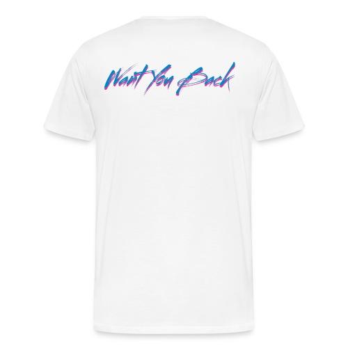 Retro Want You Back - White Cloud - Men's Premium T-Shirt