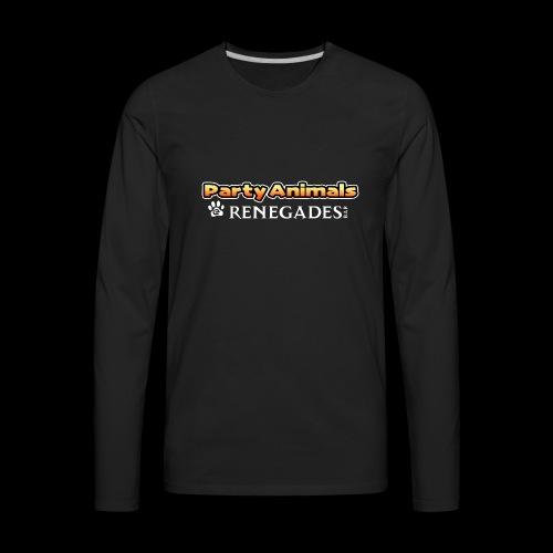 Party Animals Shirt, long sleeve - Men's Premium Long Sleeve T-Shirt
