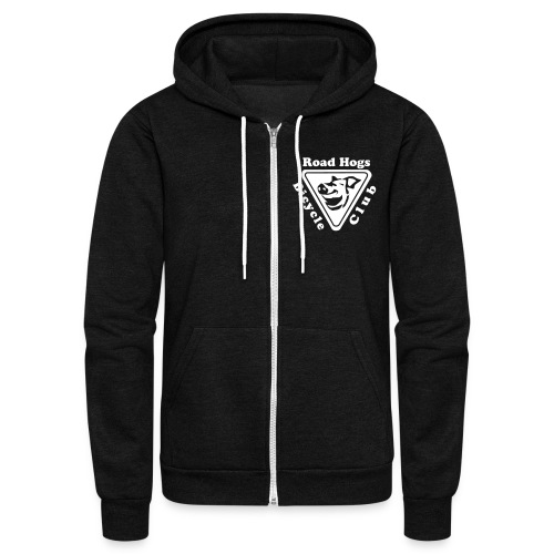 Road Hogs Bicycle Club - Glow in the Dark - Unisex Fleece Zip Hoodie