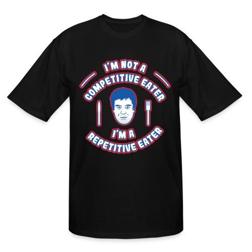 Repetitive Eater Tall Shirt - Men's Tall T-Shirt