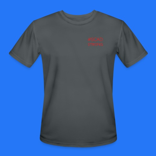 Men's Moisture Wicking Performance T-Shirt #SCADstrong - Men's Moisture Wicking Performance T-Shirt