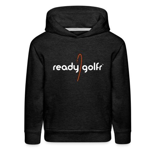 ReadyGolfr youth hoodie (dk grey) - Kids' Premium Hoodie