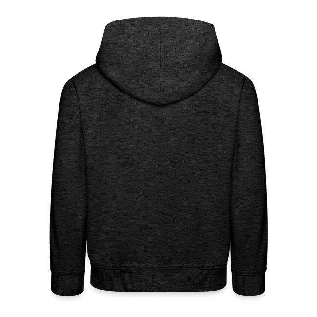 ReadyGolfr youth hoodie (dk grey)