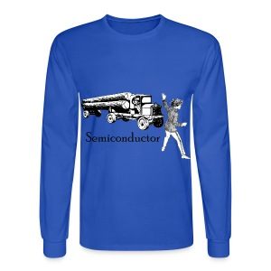 Puntastic Semiconductor - Men's Long Sleeve T-Shirt