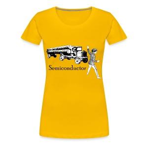 Puntastic Semiconductor - Women's Premium T-Shirt