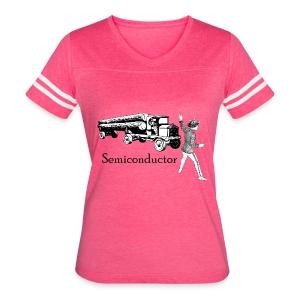 Puntastic Semiconductor - Women's Vintage Sport T-Shirt