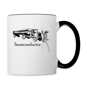 Puntastic Semiconductor - Contrast Coffee Mug