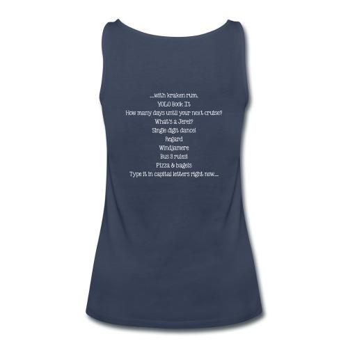 Insider Women's Tank Top Shirt - Women's Premium Tank Top