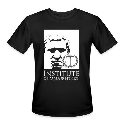 Moisture wicking shirt Greek face on Front - Men's Moisture Wicking Performance T-Shirt