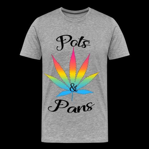 Men's  Pots & Pan's Tee (Pan Pride) - Men's Premium T-Shirt
