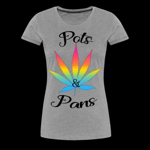 Women's Pots & Pan's Tee (Pan Pride) - Women's Premium T-Shirt