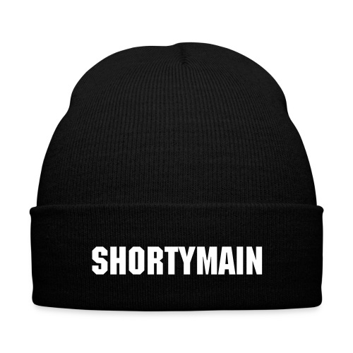 Shortymain Beenie  - Knit Cap with Cuff Print