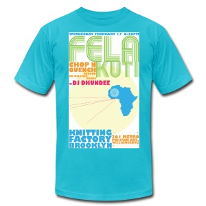 FELA RELEASE PARTY - Men's T-Shirt by American Apparel