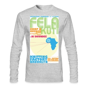 FELA RELEASE PARTY - Men's Long Sleeve T-Shirt by Next Level