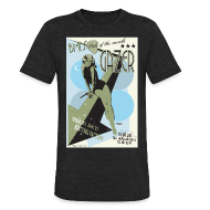 T-Shirts ~ Unisex Tri-Blend T-Shirt ~ GAZER