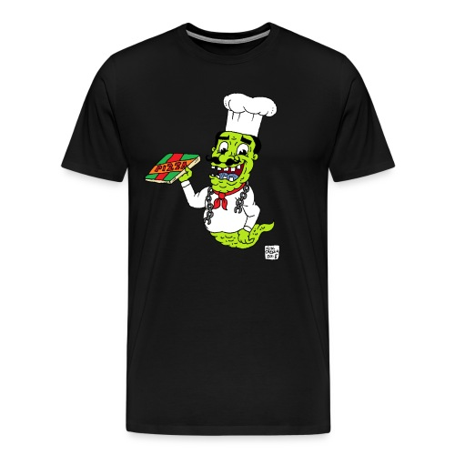 pizza ghost - Men's Premium T-Shirt