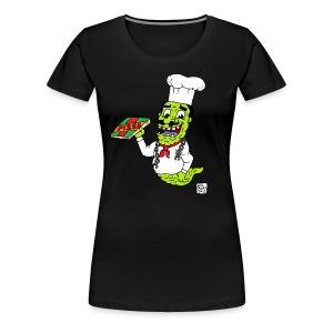 pizza ghost - Women's Premium T-Shirt