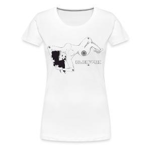 'Electric Lady' Slay Tee - Women's Premium T-Shirt