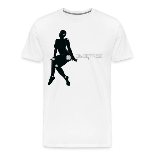 'Electric Lady' Enchant Tee - Men's Premium T-Shirt