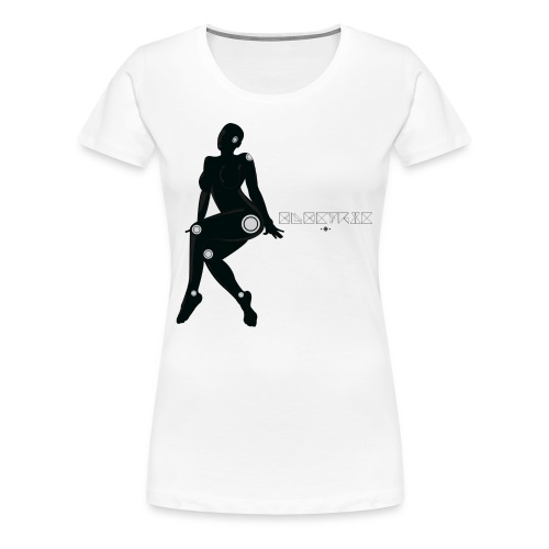 'Electric Lady' Enchant Tee - Women's Premium T-Shirt