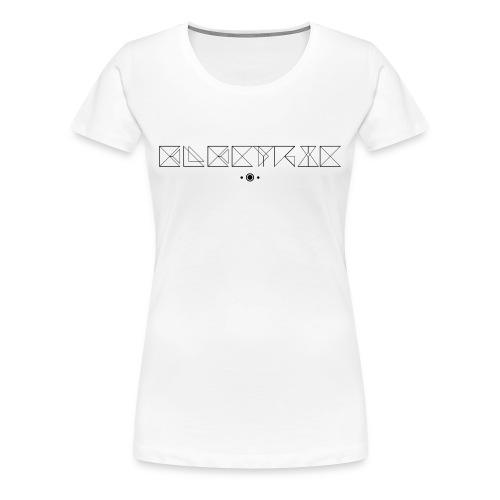 'Electric' Women's Tee - Women's Premium T-Shirt