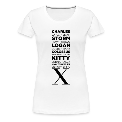 'X.Men' Women's Tee - Women's Premium T-Shirt