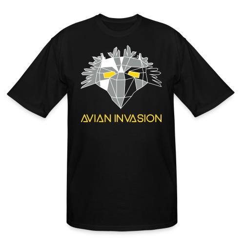 Bird One Plus-Size T Shirt - Men's Tall T-Shirt