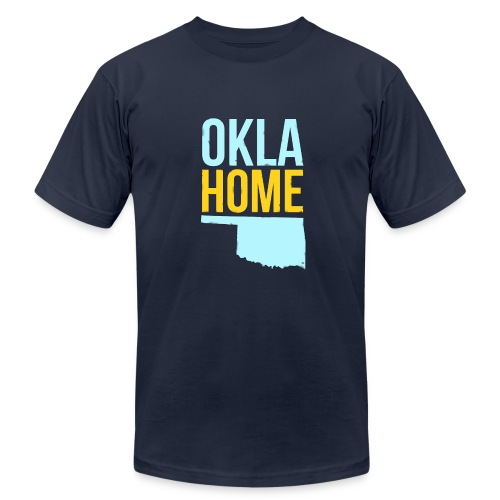 Oklahome - Men's Fine Jersey T-Shirt