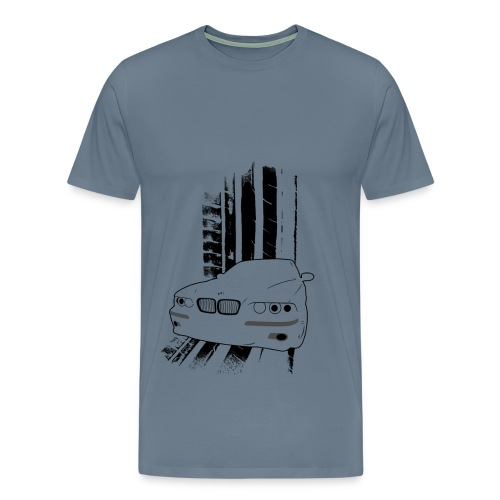 Men's BMW M5 T-shirt (Black Design) - Men's Premium T-Shirt