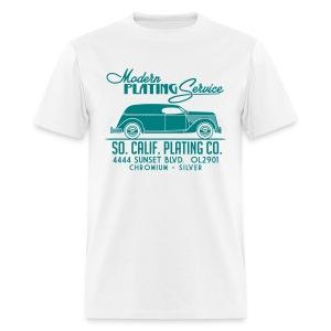 SoCali Plating Truck for light shirts (Turquoise print) - Men's T-Shirt