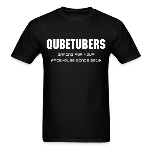 Men's T-Shirt - Show off the proud QubeTuber you are with this minimialistic design.