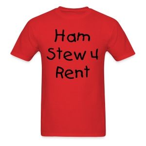Ol' Bum-Bum - Denby's Ham Stew 4 Rent T-Shirt (Mens) - Men's T-Shirt