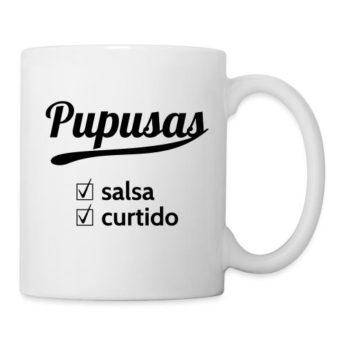 Pupusas Salsa Curtido Mug - Coffee/Tea Mug