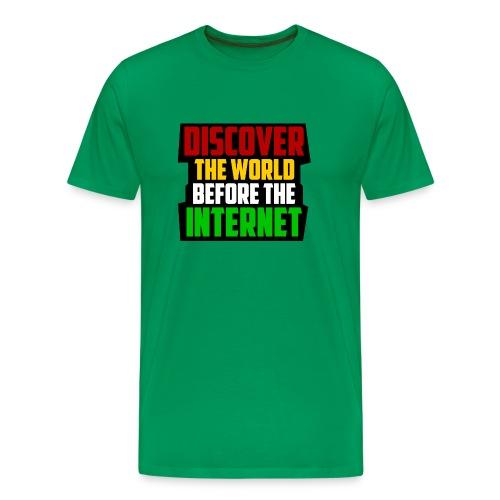 Discover - Men's Premium T-Shirt