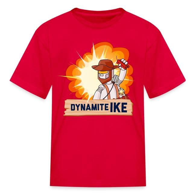 Dynamite Ike Kid's T-Shirt