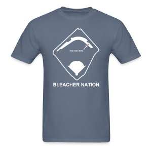Home in the Bleachers - Men's T-Shirt