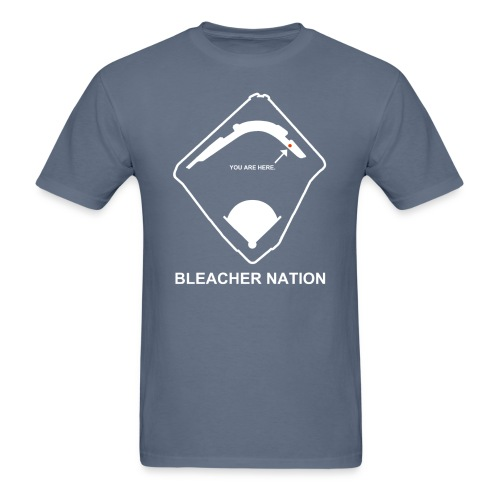 Home in the Bleachers - Men's T-Shirt