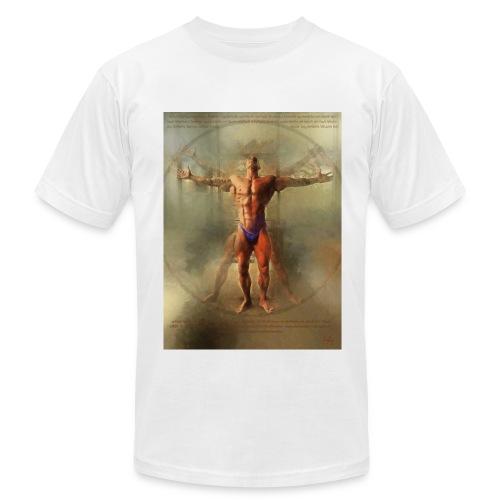 Vitruvian Man - Men's Fine Jersey T-Shirt