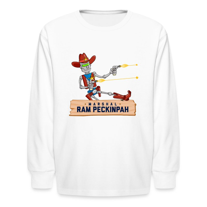 Marshal Ram Kid's Long Sleeve T-Shirt - Kids' Long Sleeve T-Shirt