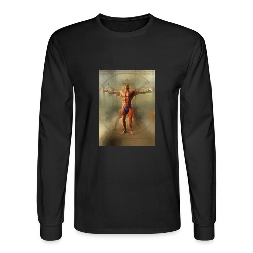 Vitruvian Man - Men's Long Sleeve T-Shirt