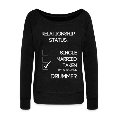 Mrs. BFM Relationship Status - Women's Wideneck Sweatshirt