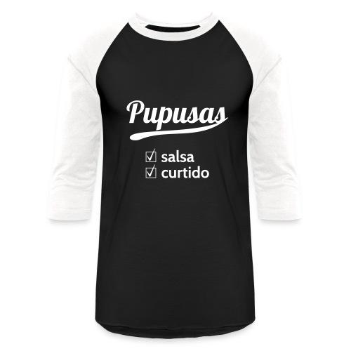 Pupusas Salsa Curtido Women Baseball T-shirt - Baseball T-Shirt