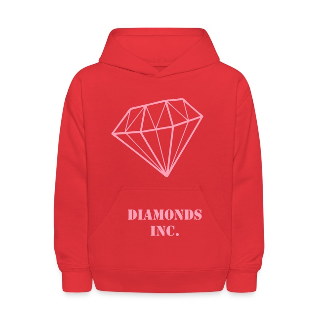 Kids Pink Diamond Sweatshirt