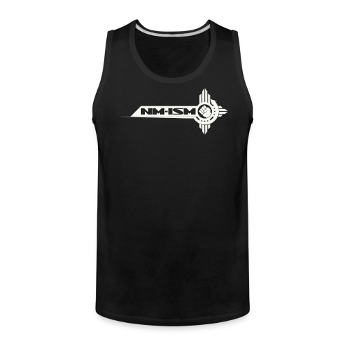 Men's NM-ISM White Logo Tank - Men's Premium Tank